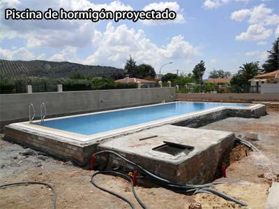 Diferentes t cnicas constructivas de piscinas el blog de for Hormigon proyectado para piscinas